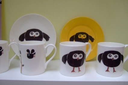 Owl ceramics