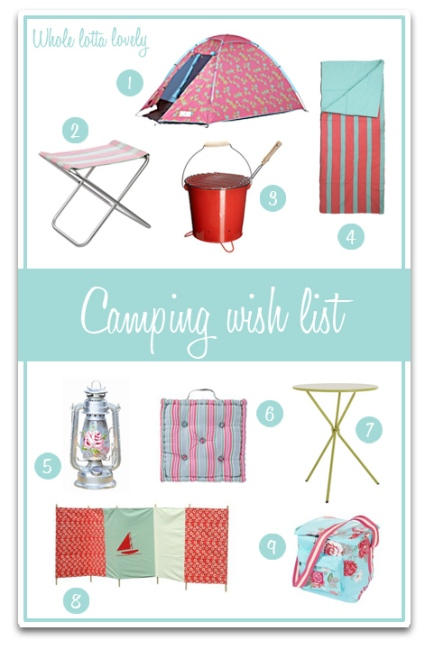 Camping-Wish-List