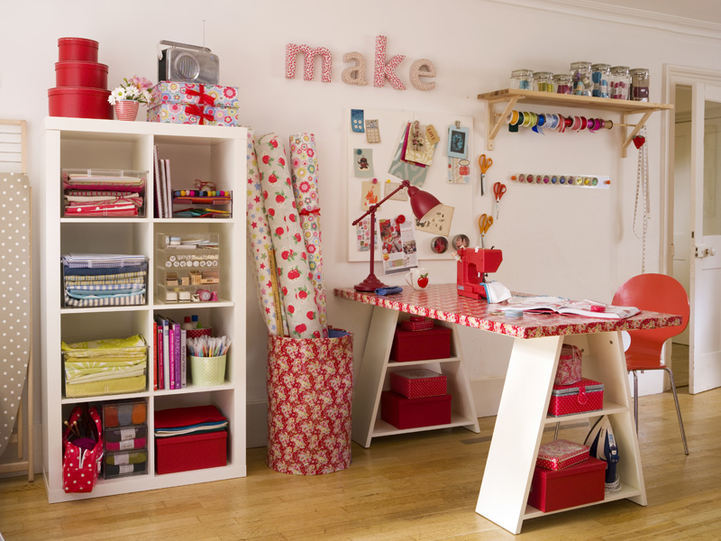 Craft Room Storage Ideas 800 x 600