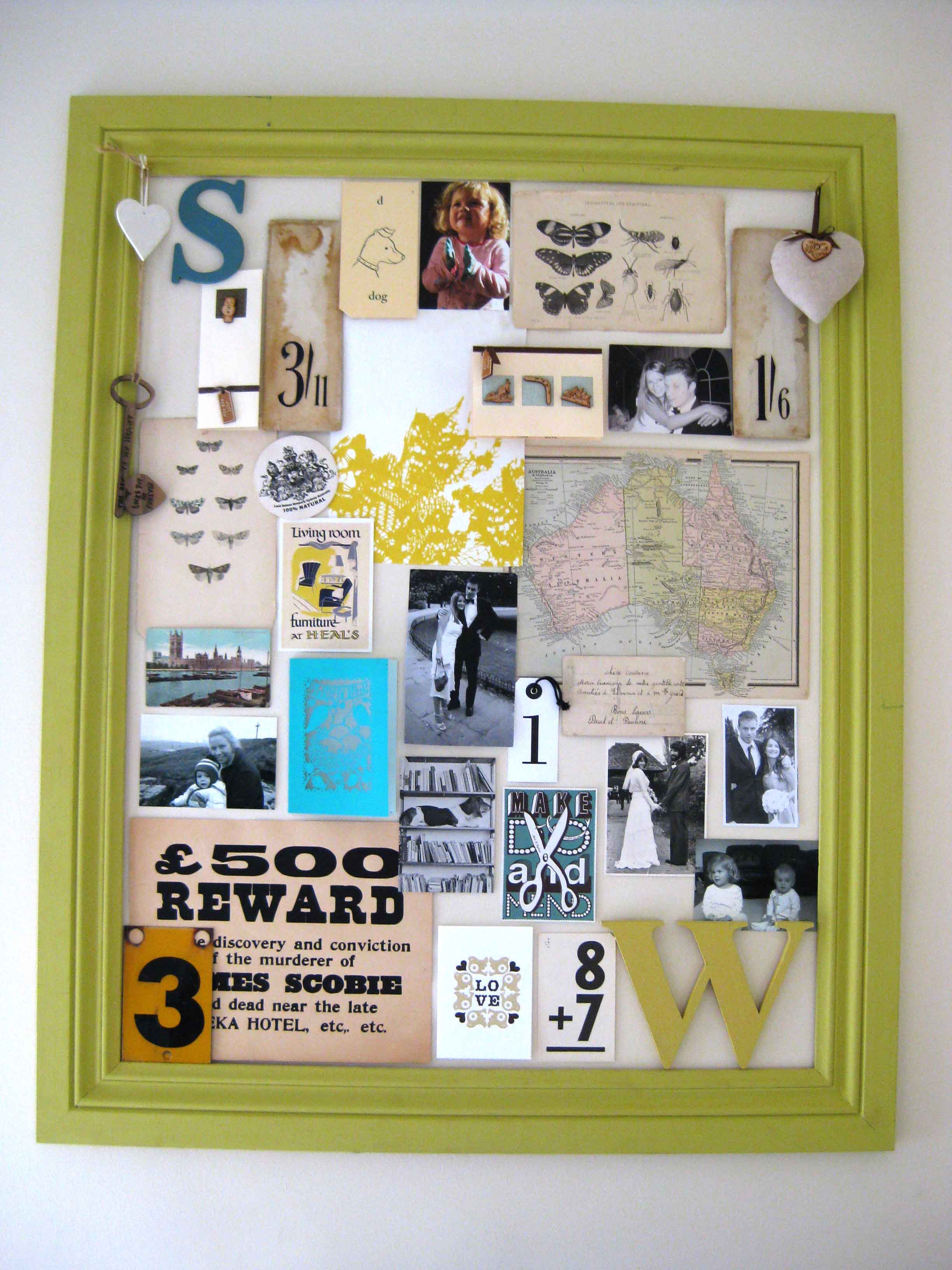Monday morning mood board my plan is that its my ever changing inspiration frame the joy of no glass and items simply being blutacked up is that its so easy to change as and when jeuxipadfo Images